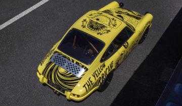 MR09 The Yellow Hurricane arbore une nouvelle peinture